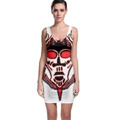 Visual Arts Skull Bodycon Dress