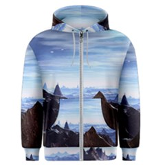 Planet Discover Fantasy World Men s Zipper Hoodie