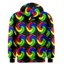 Swirls Pattern Seamless Wallpaper Men s Zipper Hoodie View2