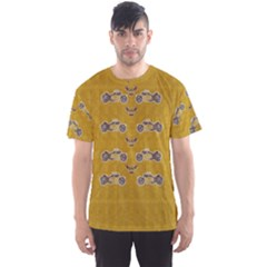Motorcycles And Ornate Mouses Men s Sports Mesh Tee by pepitasart