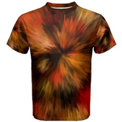 Color Background Structure Lines Men s Cotton Tee