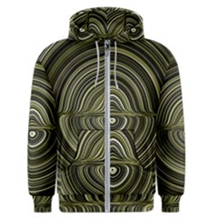 Electric Field Art Xxxii Men s Zipper Hoodie
