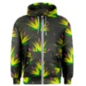Background Floral Abstract Lines Men s Zipper Hoodie View1