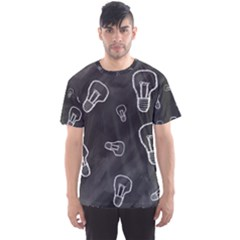 Many Lamps Background Men s Sports Mesh Tee