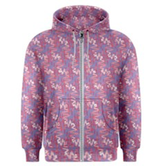 Pattern Abstract Squiggles Gliftex Men s Zipper Hoodie