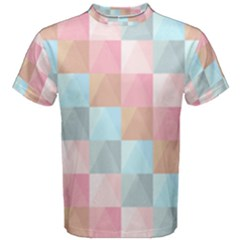 Background Pastel Men s Cotton Tee by HermanTelo