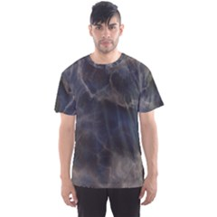 Marble Surface Texture Stone Men s Sports Mesh Tee
