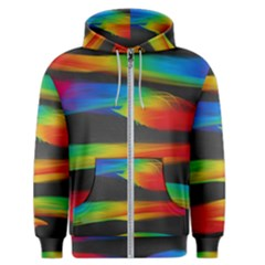 Colorful Background Men s Zipper Hoodie