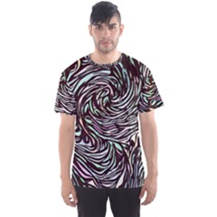 Stained Glass Men s Sports Mesh Tee