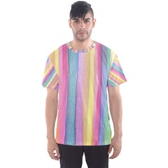 Watercolour Watercolor Background Men s Sports Mesh Tee