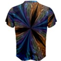 Abstract Background Kaleidoscope Men s Cotton Tee View2