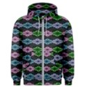 Seamless Wallpaper Geometric Men s Zipper Hoodie View1