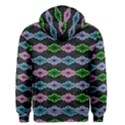 Seamless Wallpaper Geometric Men s Zipper Hoodie View2