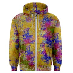 Marble Texture Abstract Abstraction Men s Zipper Hoodie