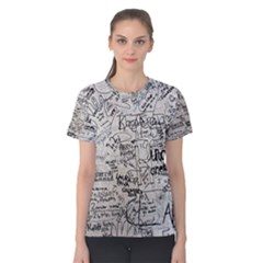 Messages Note Notitiebord Memo Women s Cotton Tee by Pakrebo