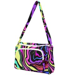 The 80s R Back Front Pocket Crossbody Bag by designsbyamerianna