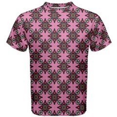 Purple Pattern Texture Men s Cotton Tee