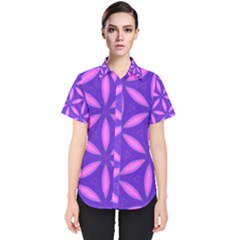 Purple Women s Short Sleeve Shirt