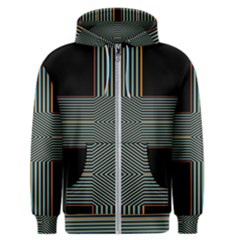 Cross Abstract Men s Zipper Hoodie