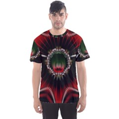Abstract Abstract Art Artwork Star Men s Sports Mesh Tee