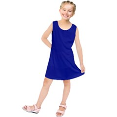 Vibrant Blue Kids  Tunic Dress by blkstudio