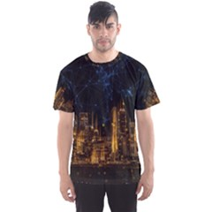 Architecture Buildings City Men s Sports Mesh Tee