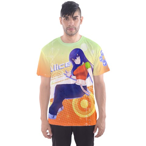 Ddr Alice Men s Sports Mesh Tee by concon