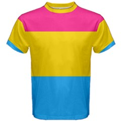 Pansexual Pride Flag Men s Cotton Tee by lgbtnation