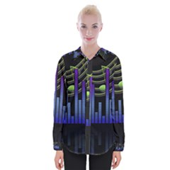 Speakers Music Sound Womens Long Sleeve Shirt by HermanTelo