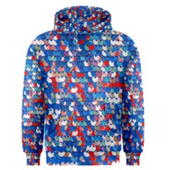 Funky Sequins Men s Pullover Hoodie by essentialimage