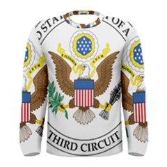 Seal Of United States Court Of Appeals For Third Circuit Men s Long Sleeve Tee by abbeyz71