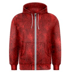 Bright Red Dream Men s Zipper Hoodie