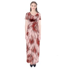 Abstract  Short Sleeve Maxi Dress by Sobalvarro