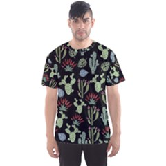 Cute Africa Seamless Pattern Men s Sports Mesh Tee