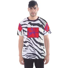 Striped By Traci K Men s Sports Mesh Tee