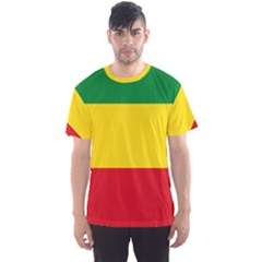 Flag Of Ethiopia Men s Sports Mesh Tee