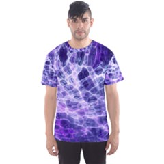 Abstract Space Men s Sports Mesh Tee