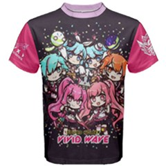 Sdvx Vivid Wave Chibi Dark Men s Cotton Tee by concon