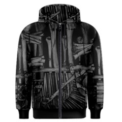 Sedlec Ii Men s Zipper Hoodie by karstenhamre