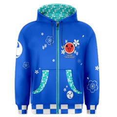Taiko Blue Men s Zipper Hoodie by concon