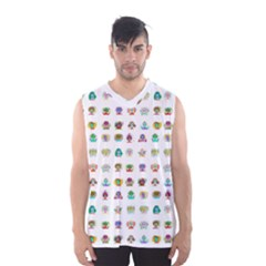All The Aliens Teeny Men s Basketball Tank Top