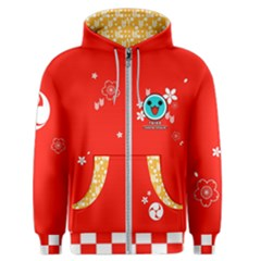 Taiko Red Men s Zipper Hoodie by concon
