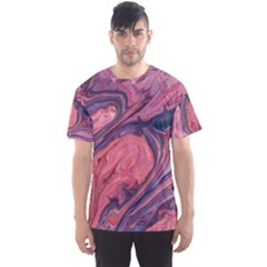 Abstract-colorful-painting-background-closeup Men s Sport Mesh Tee