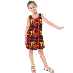 Working Class Hero - Welders And Other Handymen Are True Heroes - Work Kids  Sleeveless Dress by DinzDas