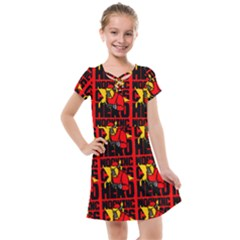 Working Class Hero - Welders And Other Handymen Are True Heroes - Work Kids  Cross Web Dress by DinzDas
