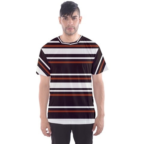 Classic Coffee Brown Men s Sport Mesh Tee by tmsartbazaar