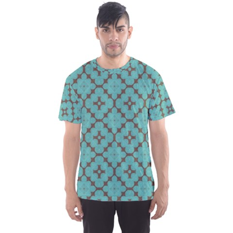 Tiles Men s Sport Mesh Tee by Sobalvarro