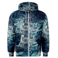 Fractal Swings Men s Zipper Hoodie