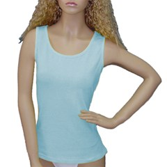 Women s Baby Blue Tank Top Icon