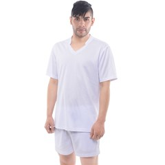 Men s Mesh Tee and Shorts Set Icon